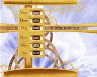 Sky Clock ScreenSaver