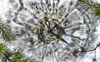 Ice Clock 3D Photo Screensaver