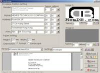 MemDB Envelope Printing System