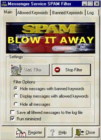 Messenger Service SPAM Filter