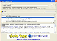 Meta Tags Retriever
