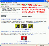 RSS2HTML Scout
