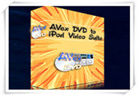 1st Avex DVD to iPod Video Suite
