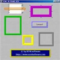 SCML 3D FRAME OCX