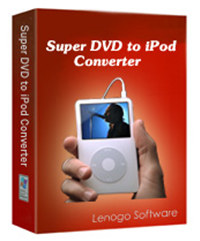 Super DVD to iPod Converter Version 3.4
