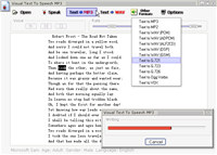 Visual Text To Speech MP3