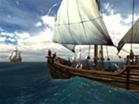 Voyage of Columbus 3D Photo Screensaver
