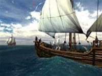 Voyage of Columbus 3D Photo Screensaver