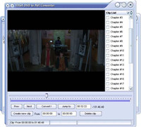 YASA DVD to AVI Converter