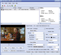 YASA MOV to MPEG WMV AVI Converter
