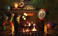 Fireside Christmas 3D Photo Screensaver