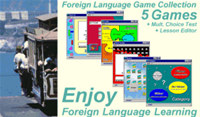 Foreign Language Game Collection