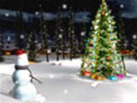 Heiligabend 3D Bildschirmschoner screenshot medium