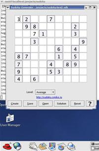 Sudoku Generator (for Linux)
