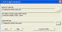 VideoSlurp FLV to MP3