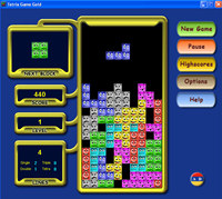Free Tetris Game screenshot medium