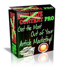 Duplicate Content Pro