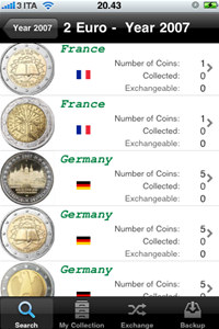 Euro Find Coins for iPhone screenshot medium