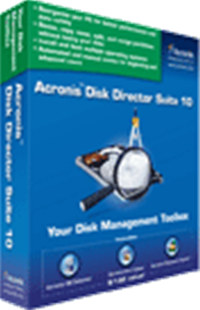 Acronis Disk Director Suite 10.0