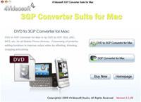 4Videosoft 3GP Converter Suite for Mac