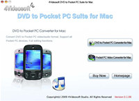 4Videosoft DVD to Pocket PC for Mac