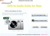 4Videosoft DVD to Audio Suite for Mac