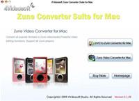 4Videosoft Zune Converter Suite for Mac