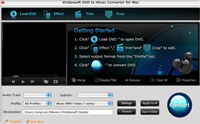 4Videosoft Mac DVD to iRiver Converter screenshot medium