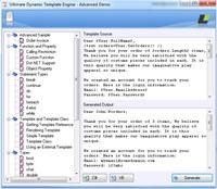Template Engine .NET CS VB ASP.NET