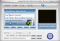 4Easysoft Mac Flash To MPEG4 Converter