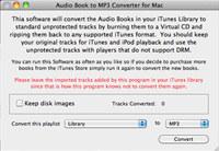 Mac Audio Book Converter