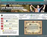 Last Name Almanac