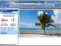 Weather Theme for Internet Explorer