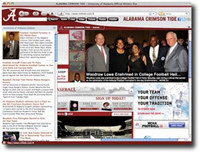 Alabama Crimson Tide IE Browser Theme
