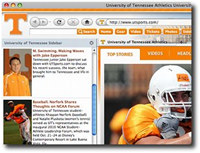 Tennessee Vols IE Browser Theme