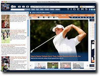 Auburn Tigers IE Browser Theme