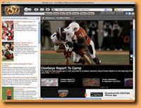 OK State Cowboys IE Browser Theme
