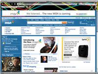 Neon Lights Internet Explorer Theme