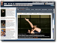 Fighting Illini IE Browser Theme