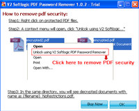 Pdf Files Password Removal screenshot medium