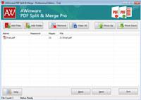 AWinware Image Pdf Merger Splitter Pro screenshot medium