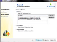 Convert PST to NSF File