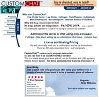 CustomChat Server