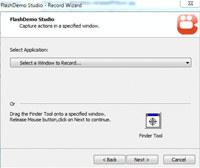 FlashDemo screen to swf creator screenshot medium
