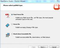 FlashDemo screen to exe creator