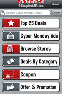 CyberMonday Deals 2010 - By CheapDeals10