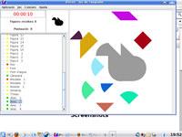 Peces (tangram game)