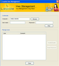 Free Lepide User Management