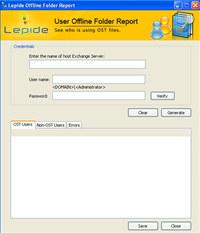 Free Lepide Offline Folder Report
