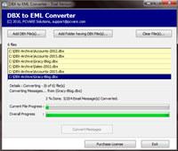 DBX to EML Conversion